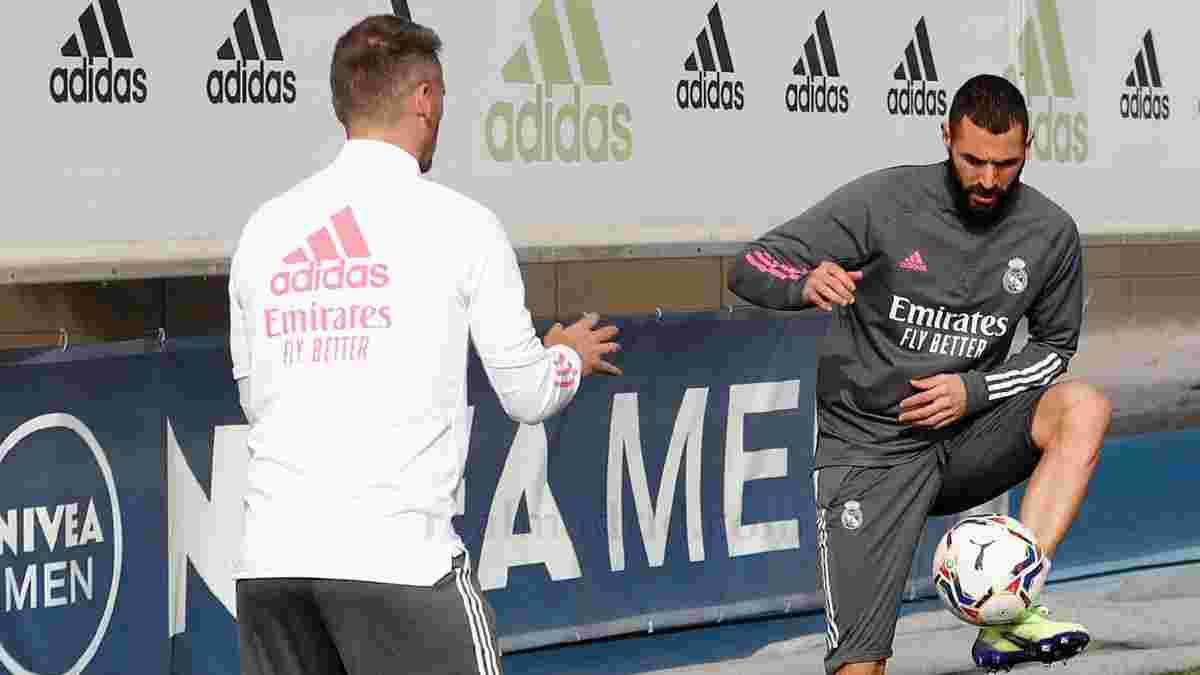 Бензема не возобновил тренировки в общей группе – матч с Шахтером через несколько дней