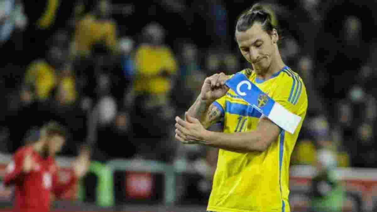 Ібрагімовіч обговорив можливість відновлення кар'єри у збірній Швеції із наставником команди