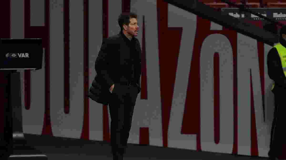 Сімеоне зірвав хвилину мовчання в пам'ять про Марадону – ніхто не підтримав тренера Атлетіко