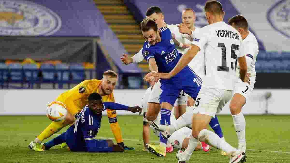 Лестер отримав потрійне підсилення перед матчем зі Зорею у Лізі Європи