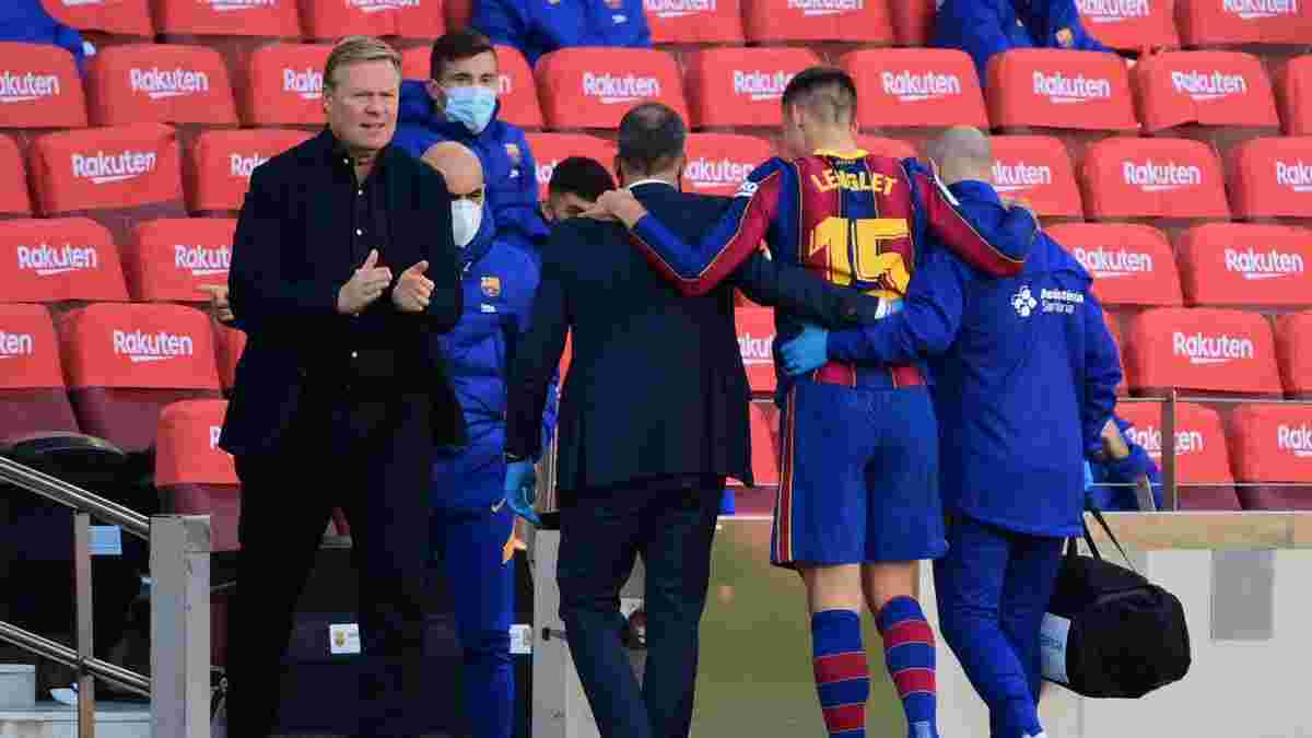 Барселона потеряла Лангле из-за повреждения – каталонцы остались без центральных защитников, но есть позитив