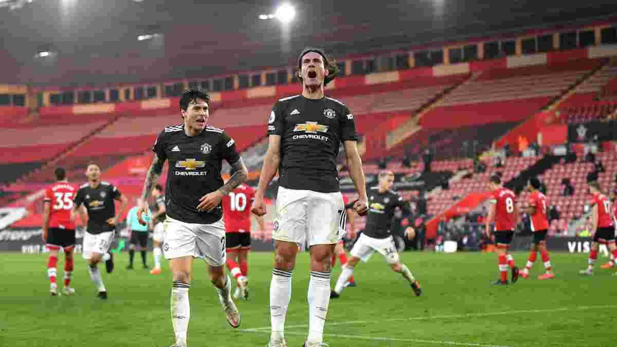 Камбэк имени Кавани в видеообзоре матча Саутгемптон – Манчестер Юнайтед – 2:3
