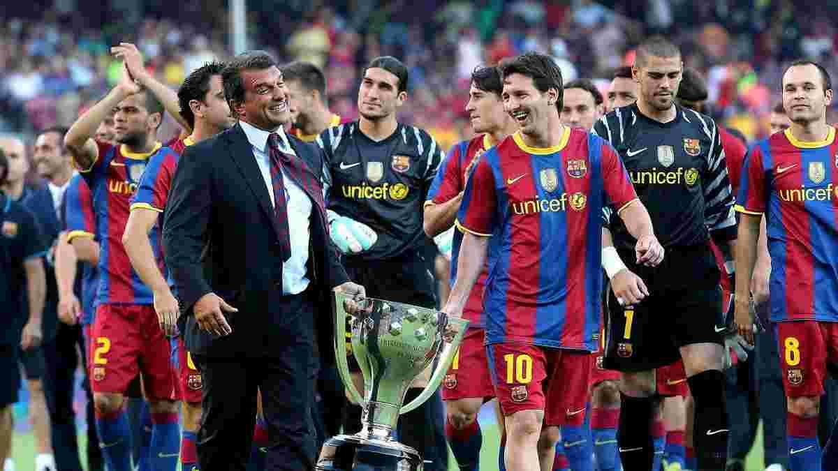 Барселона не отпустила Месси в Интер за 250 миллионов, – экс-президент клуба