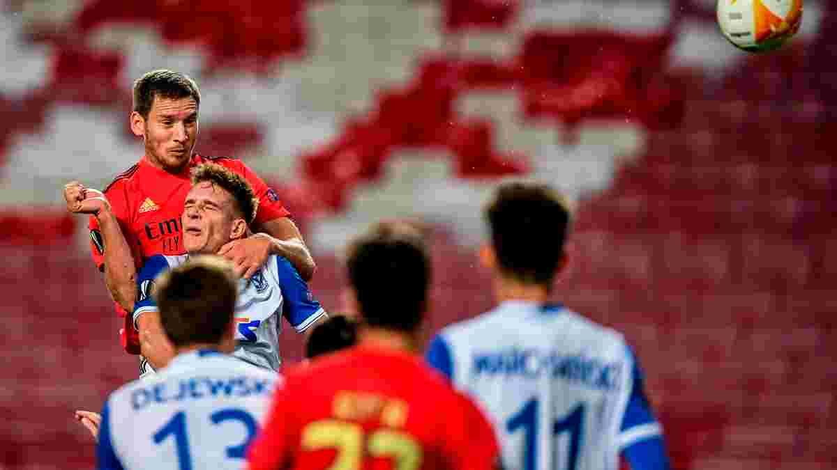 Ліга Європи: Бутко не врятував Лех від погрому, Наполі втратив перемогу над АЗ та закрутив інтригу в групі F
