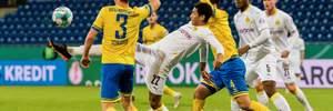 Кубок Германии: Дортмунд обыграл Брауншвайг, Падерборн выбил Унион Берлин, Боруссия М унизила соперника