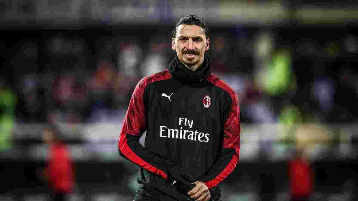 Ибрагимович вернулся в заявку Милана после полуторамесячной паузы