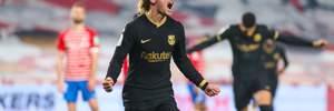 Лідерський перфоманс Грізманна у відеоогляді матчу Гранада – Барселона – 3:5