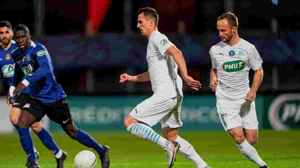 Кубок Франції: Марсель зганьбився у протистоянні з представником четвертого дивізіону