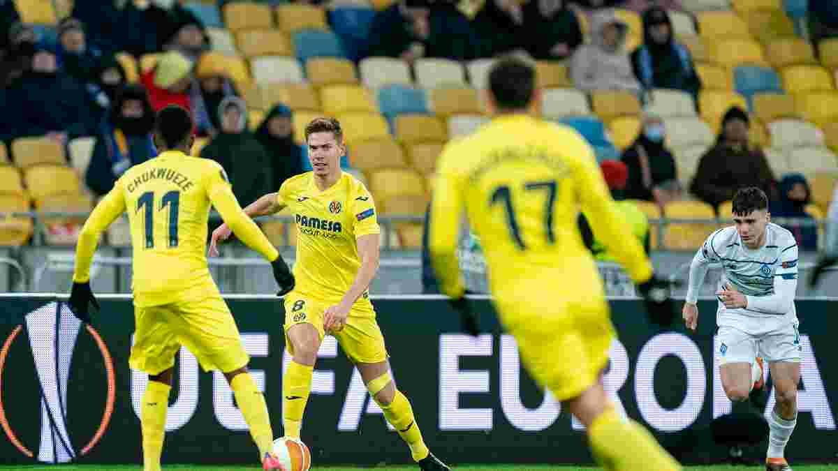 Динамо – Вильярреал – 0:2 – видео голов и обзор матча