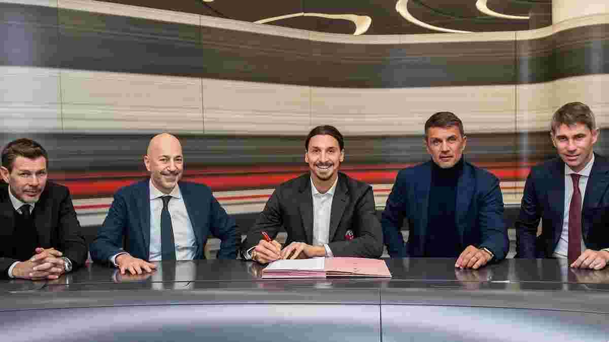 Мілан продовжить контракт з Ібрагімовічем