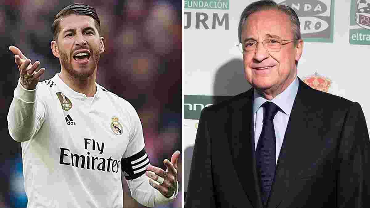 Реал гарантує Рамосу розкішні умови після завершення кар'єри в обмін на контракт зі зниженням зарплати