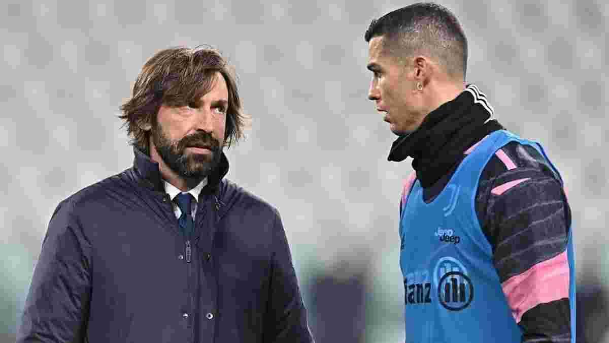 Пирло высказался относительно слухов о возвращении Роналду в Реал