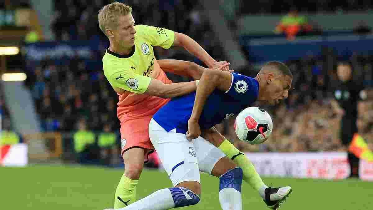 Евертон – Манчестер Сіті: Зінченко потрапив до стартового складу на матч 1/4 фіналу Кубка Англії