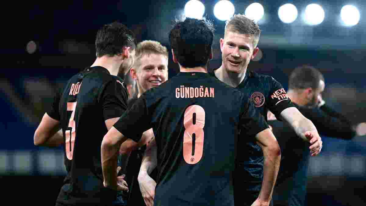 Ман Сіті вийшов у півфінал Кубка Англії, дотиснувши Евертон – Зінченко провів якісний матч і заслужив на високі оцінки