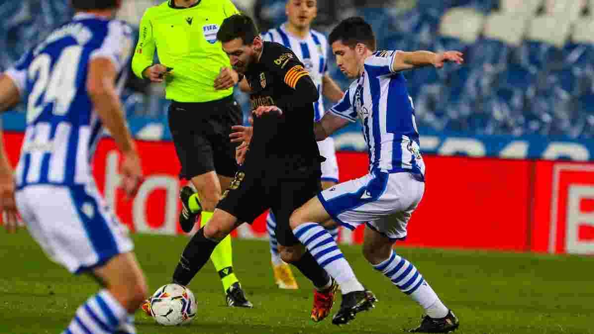 Концерт Мессі і компанії у відеоогляді матчу Реал Сосьєдад – Барселона – 1:6