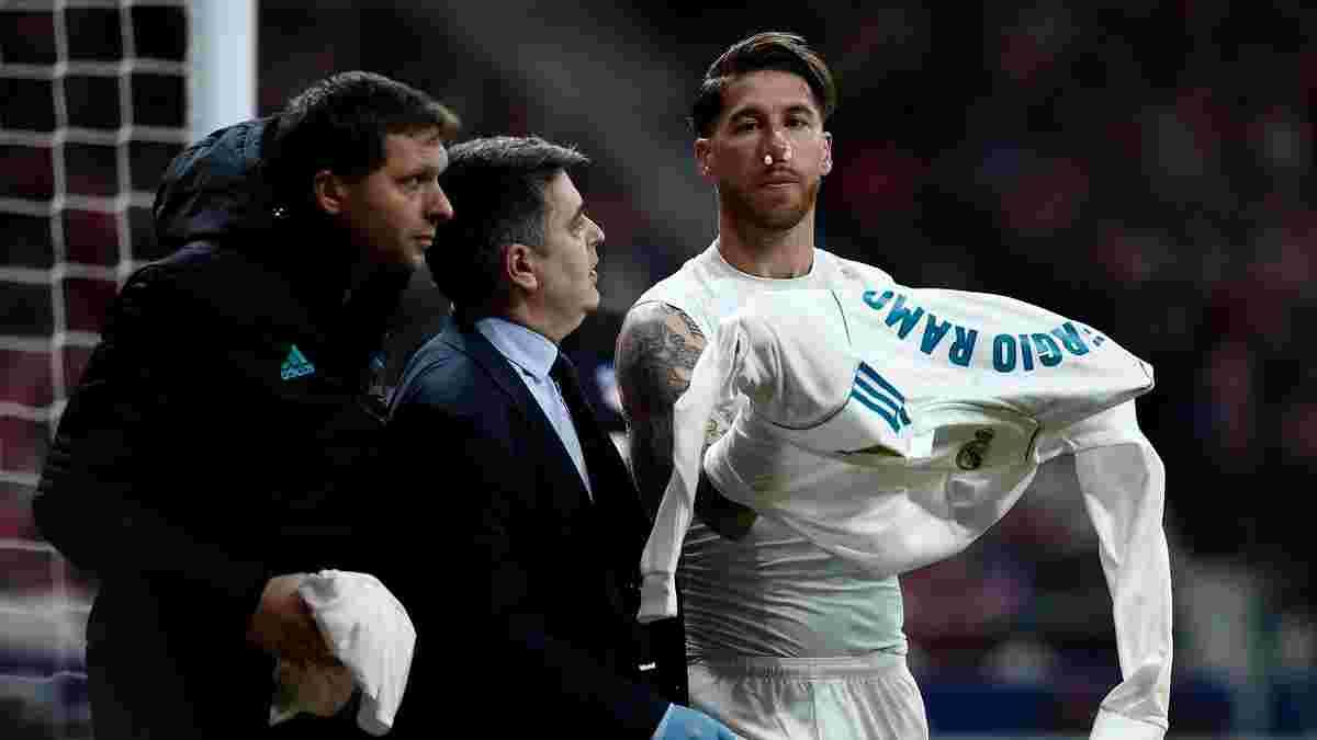 Рамос не потрапив до заявки Реала на матч проти Сельти