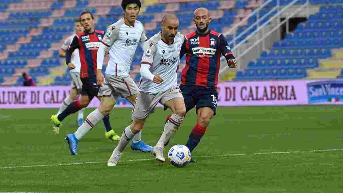 Болонья оформила ефектний камбек проти Кротоне, Спеція у важкому матчі втримала перемогу над Кальярі