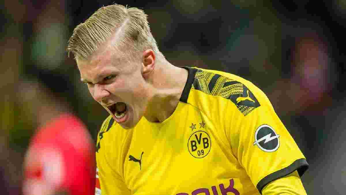 Холанд роздратовано жбурнув футболку супернику – неоднозначний вчинок зірки Борусії Д