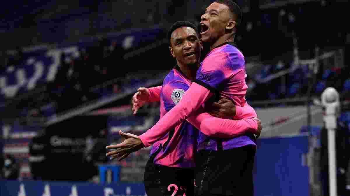 ПСЖ перестріляв Ліон і очолив Лігу 1: шість голів, дубль Мбаппе, камбек Неймара
