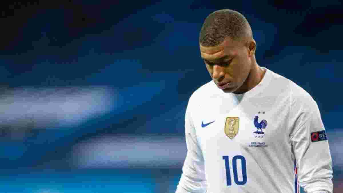 Франція – Україна: Мбаппе ризикує пропустити старт відбору на чемпіонат світу