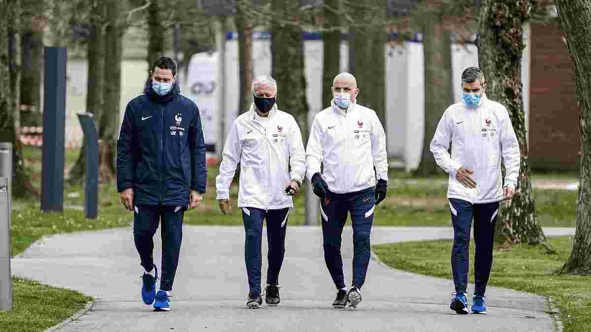В отеле сборной Франции обнаружили коронавирус – Дешам экстренно сменил планы перед матчем с Украиной