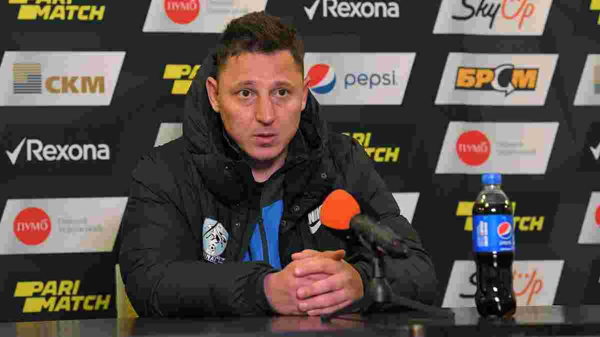 Кобин подал в отставку с поста главного тренера Миная
