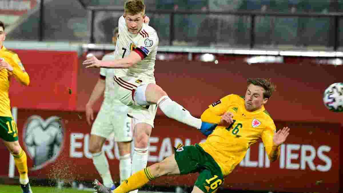 ЧС-2022: Бельгія здійснила камбек проти Уельсу, партнер Ярмоленка принизив Естонію, Норвегія познущалась з Гібралтару
