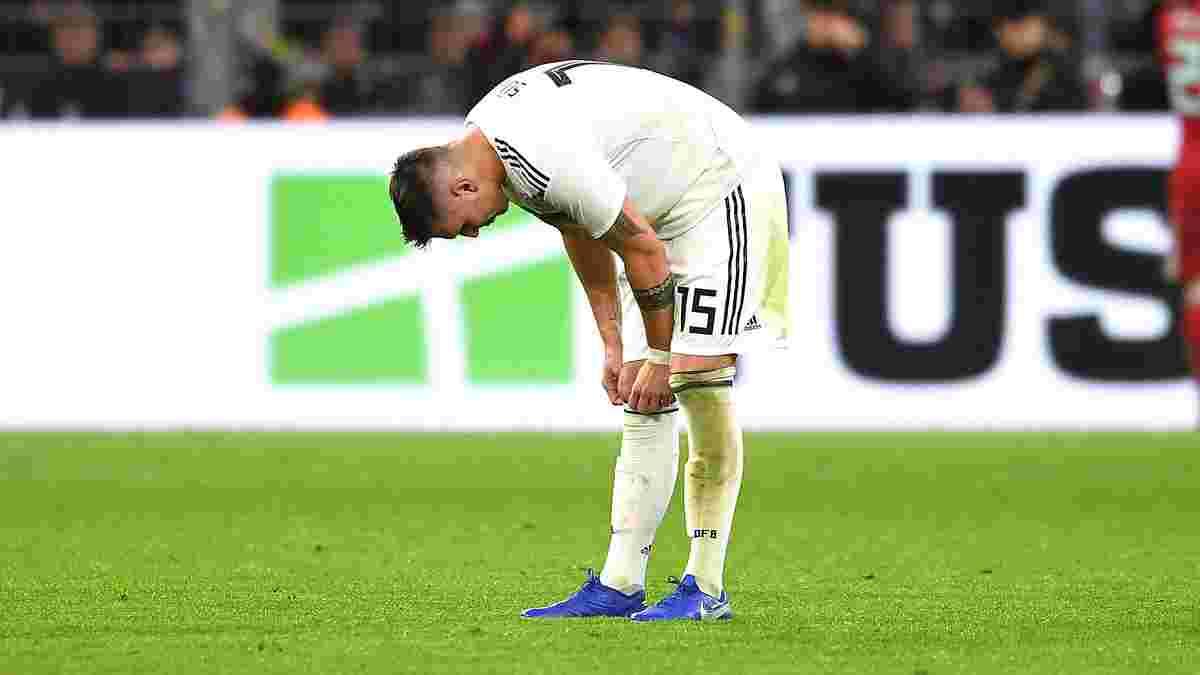 Германия потеряла защитника Баварии на матчи квалификации к ЧМ-2022