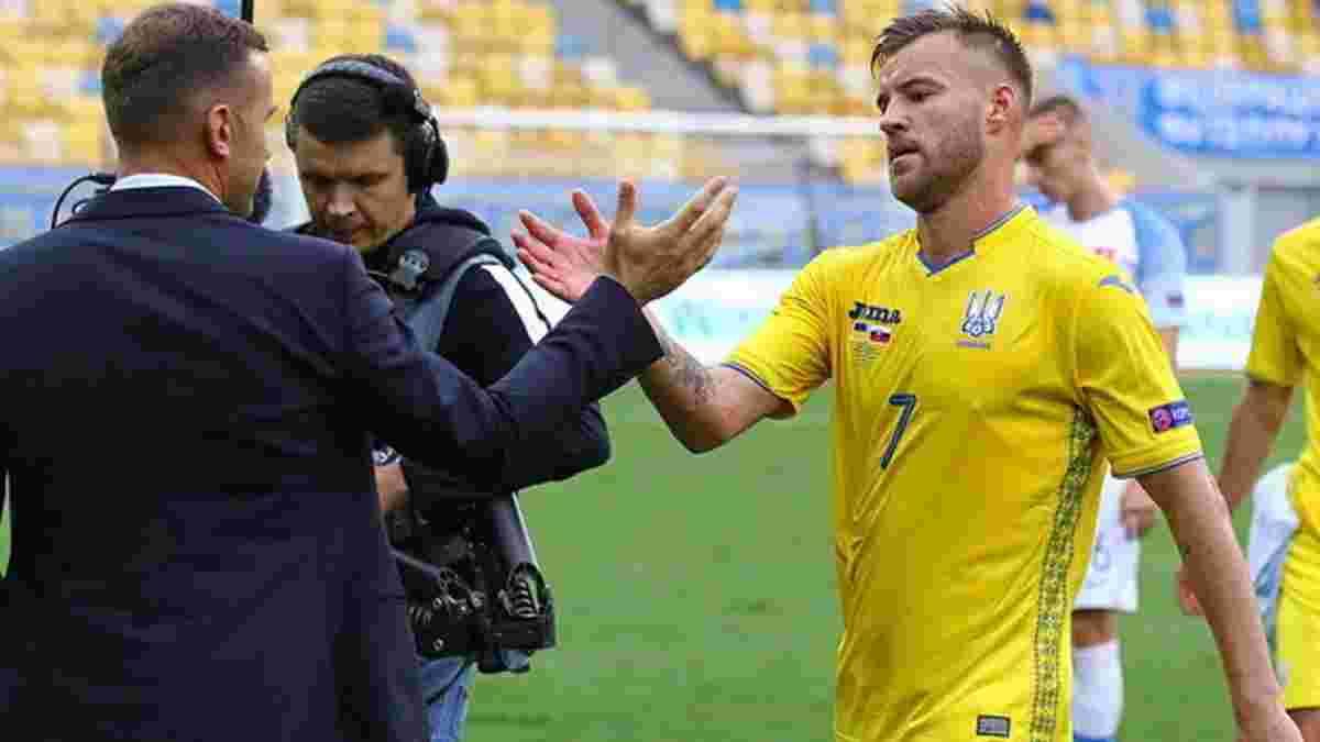 Ярмоленко залишив розташування збірної України – ще двом динамівцям дозволили зіграти за клуб
