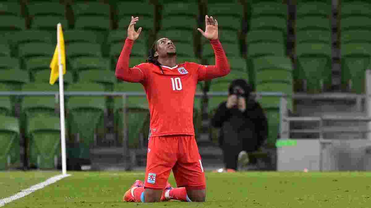 Жерсон красивым дальним ударом сотворил сенсацию в отборе к ЧМ-2022 – видео гола и обзор победы Люксембурга