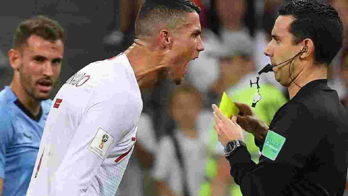 Роналду отримав вибачення від арбітра за незарахований гол – португалець переконаний, що це не вирішує проблему