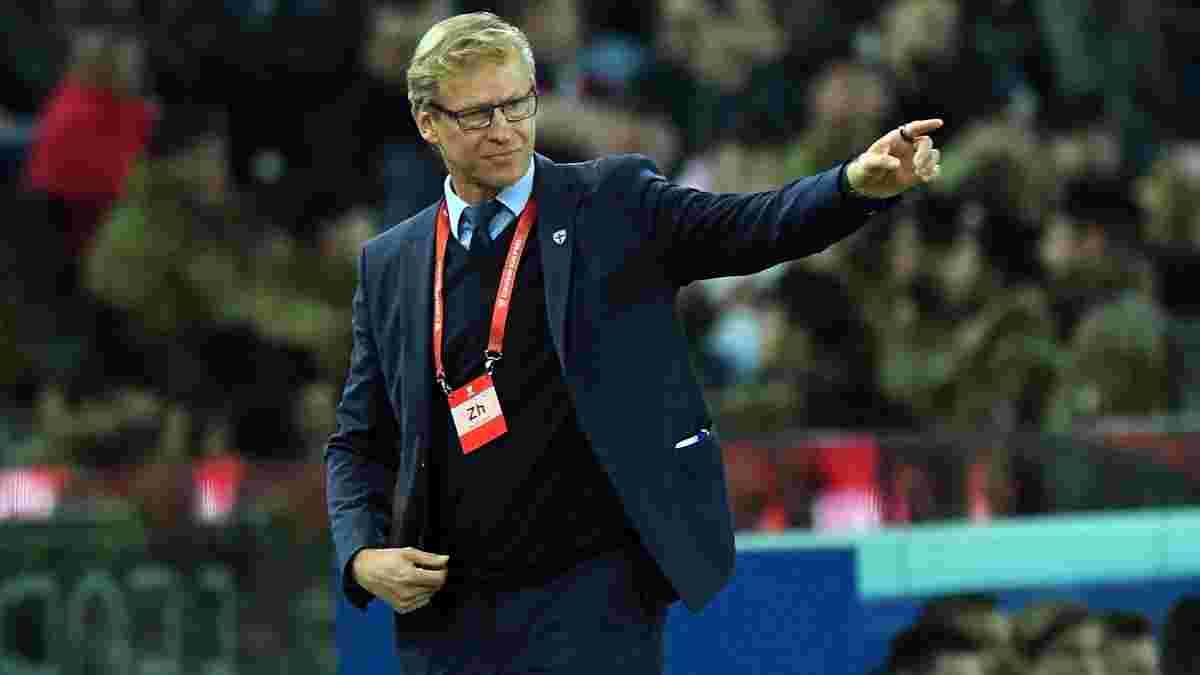Наставник сборной Финляндии оценил результат игры с Украиной