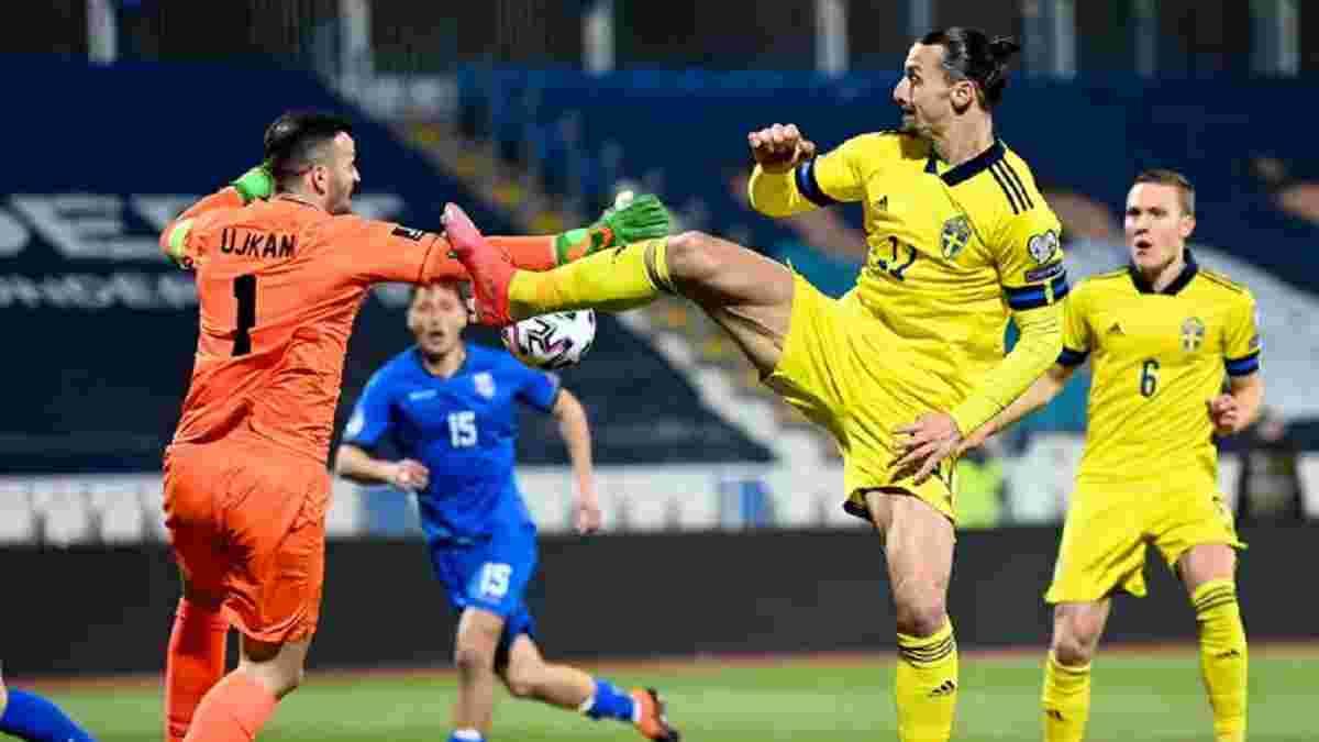 Ибрагимович остроумно объяснил отсутствие голов после возвращения в сборную – швед отдал по ассисту в каждом матче