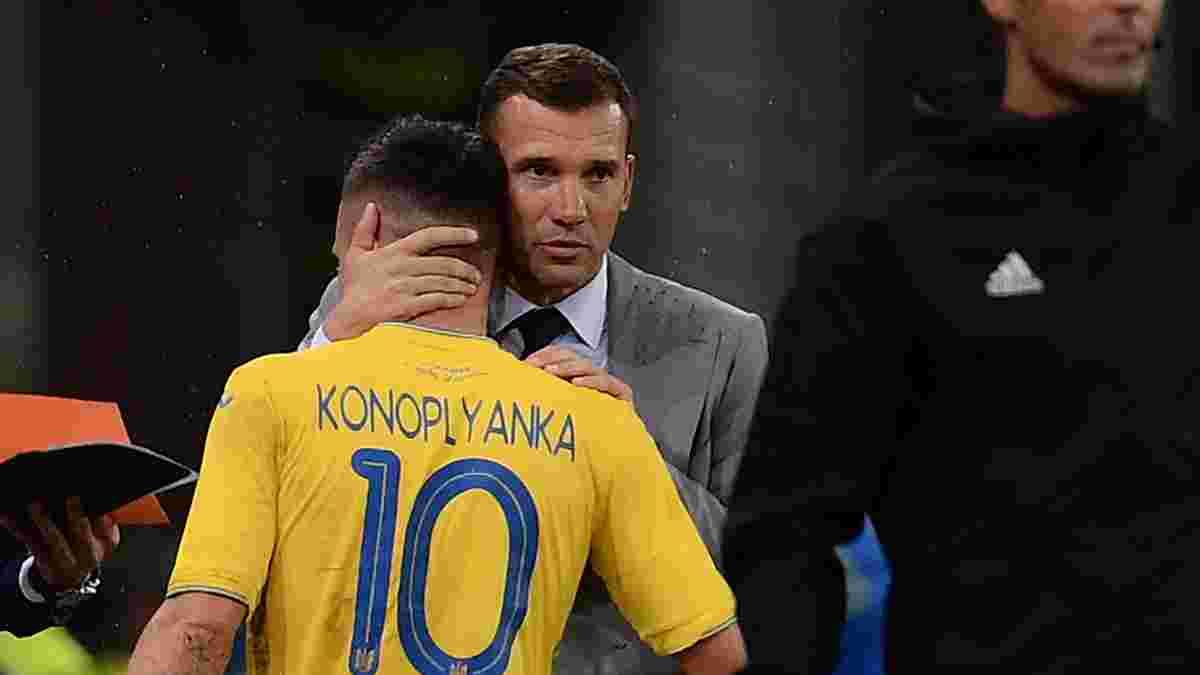Україна – Фінляндія: Циганик назвав гравців, яких найбільше бракувало Шевченку