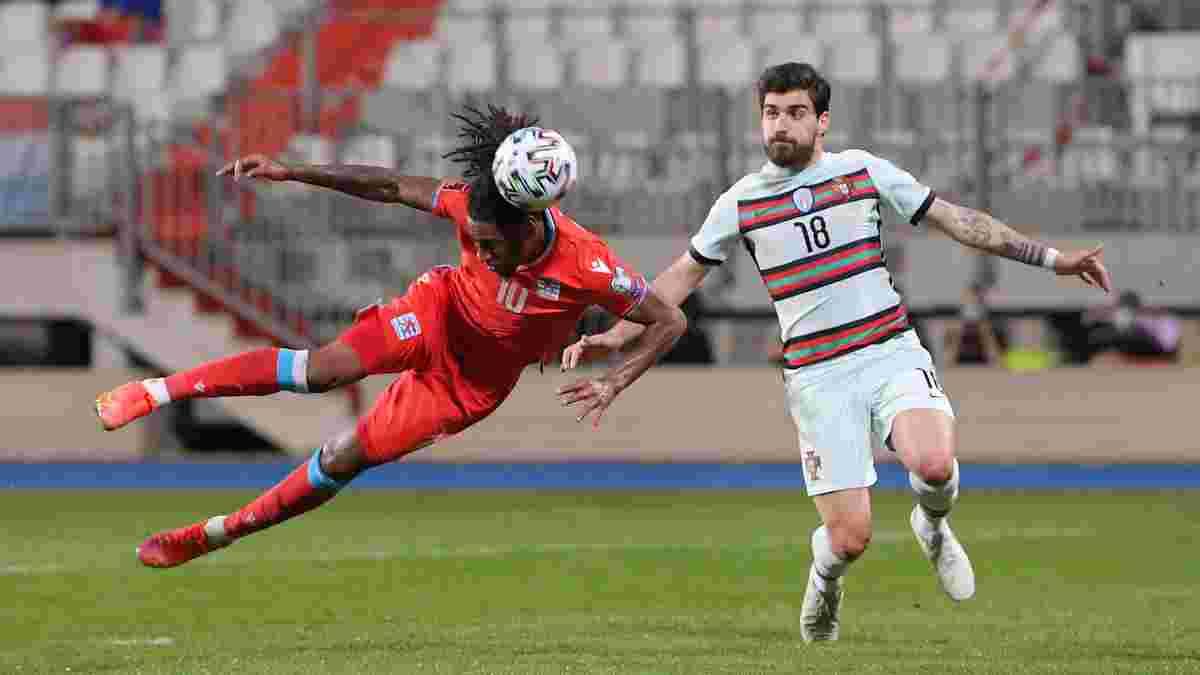 Даремний подвиг Жерсона у відеоогляді матчу Люксембург – Португалія – 1:3