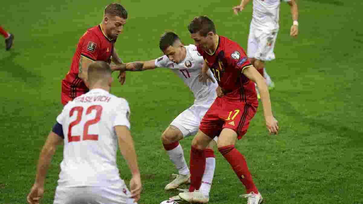 """Білорусь зазнала найбільшої поразки у своїй історії – тренеру довелося просити вибачення за """"страшний сон"""" з Бельгією"""