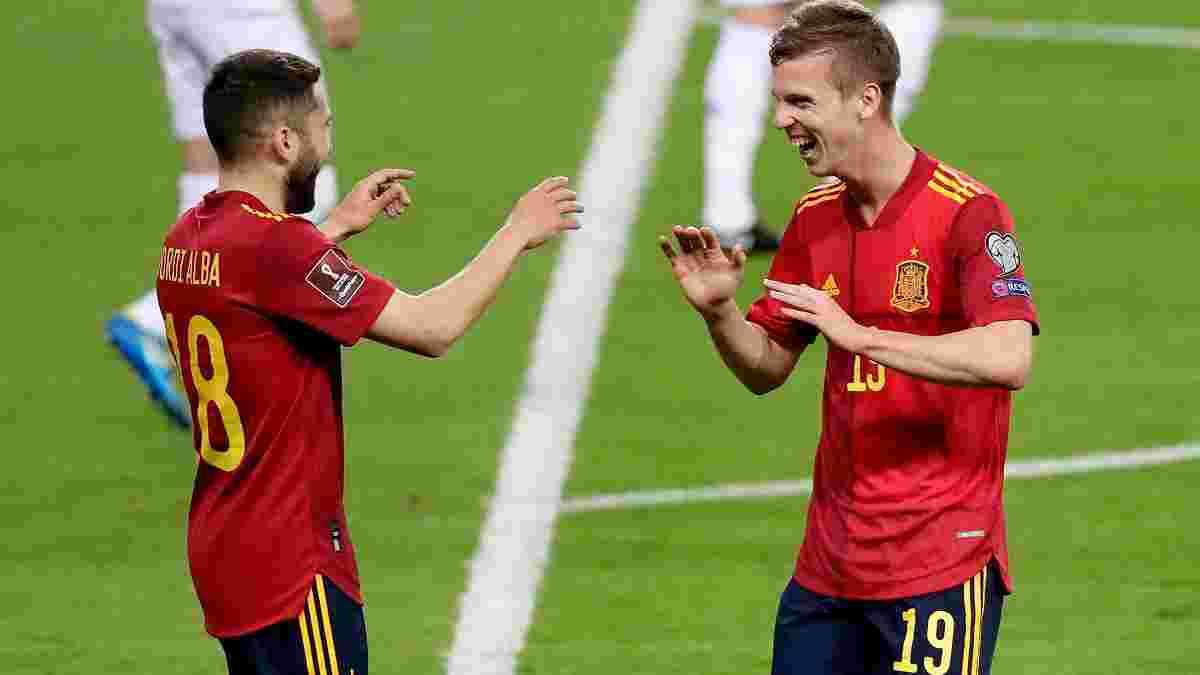 Іспанія та Італія продовжили переможну ходу в відборі ЧС-2022, Данія розбила суперника України, Соломон забив за Ізраїль