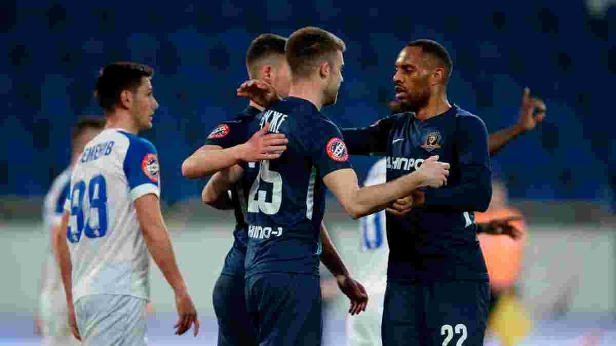 СК Днепр-1 в большинстве раздавил Львов, забив пять голов – команда Йовичевича одержала третью подряд победу в УПЛ