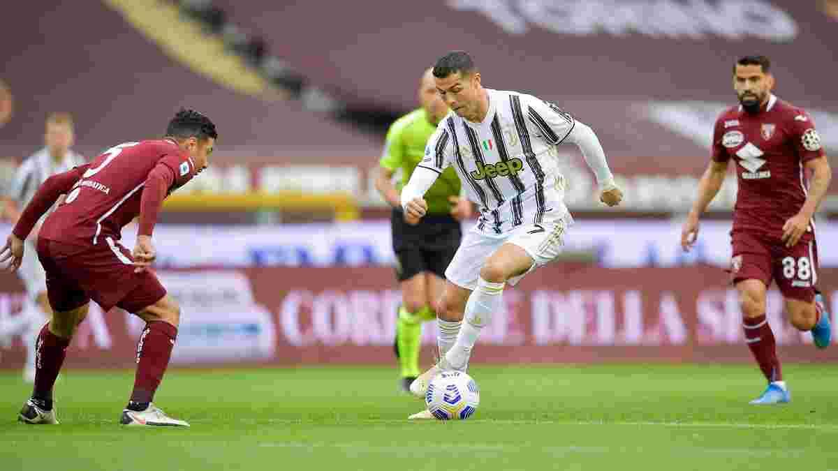Роналду голом на останніх хвилинах врятував Ювентус від поразки, Інтер здолав Болонью та закріпився на вершині Серії А