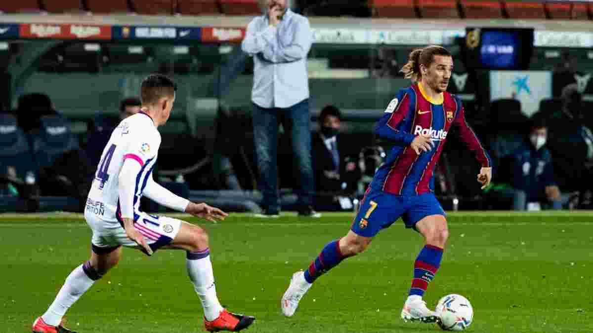 Барселона вырвала победу над Вальядолидом перед Эль Класико – Дембеле стал героем, забив на 90-й минуте