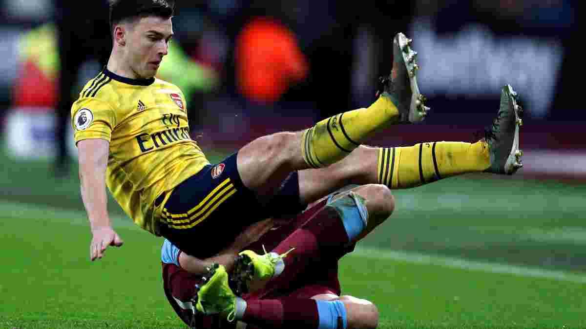Тирни получил тяжелую травму – защитник Арсенала пропустит Евро-2020