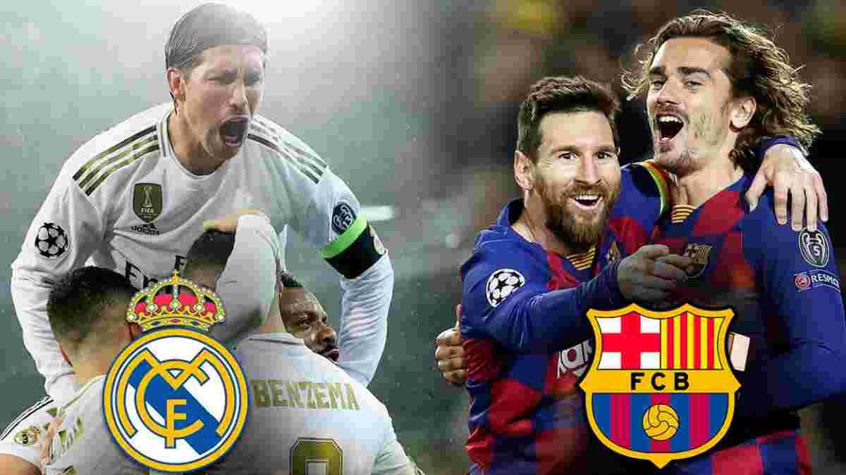 Реал – Барселона: прогноз на Ель Класіко