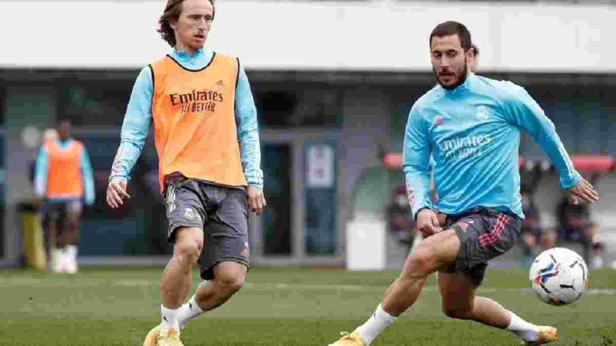 Реал – Барселона: Азар вернулся к тренировкам – бельгиец надеется сыграть в своем первом Класико