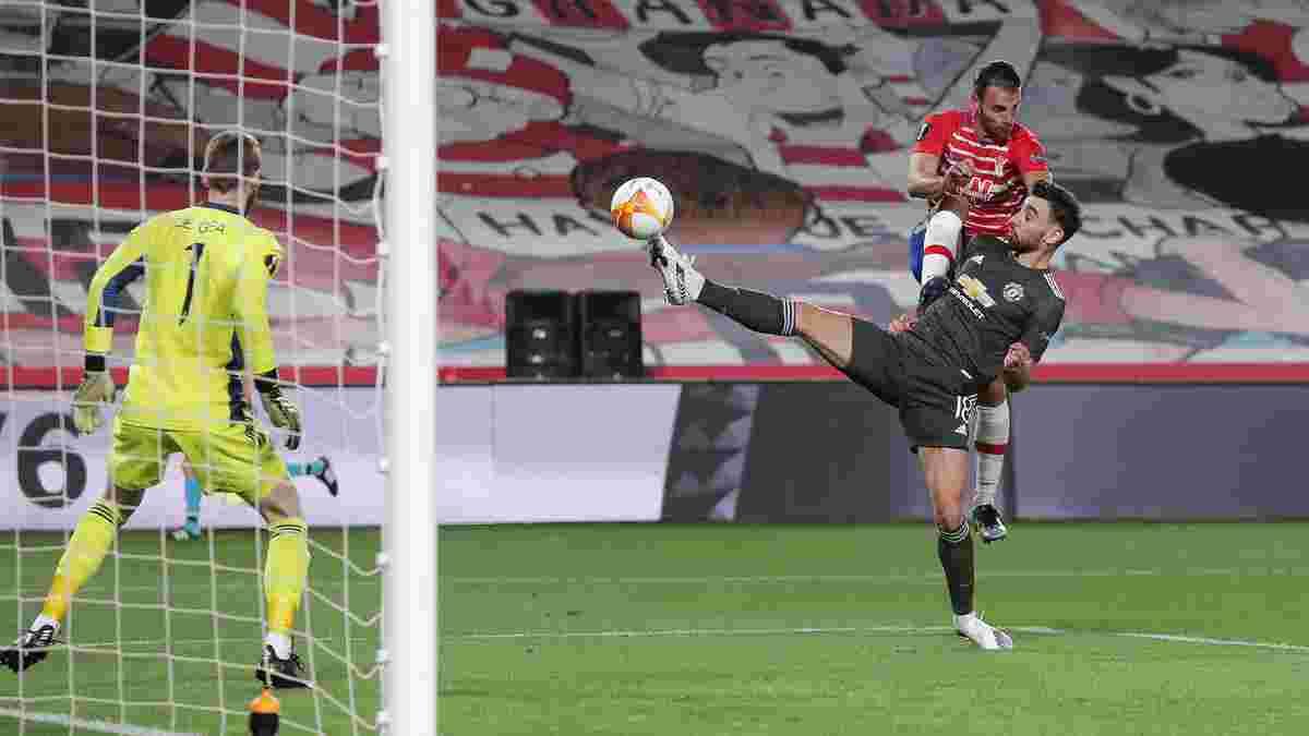 Гранада – Манчестер Юнайтед – 0:2 – видео голов и обзор матча