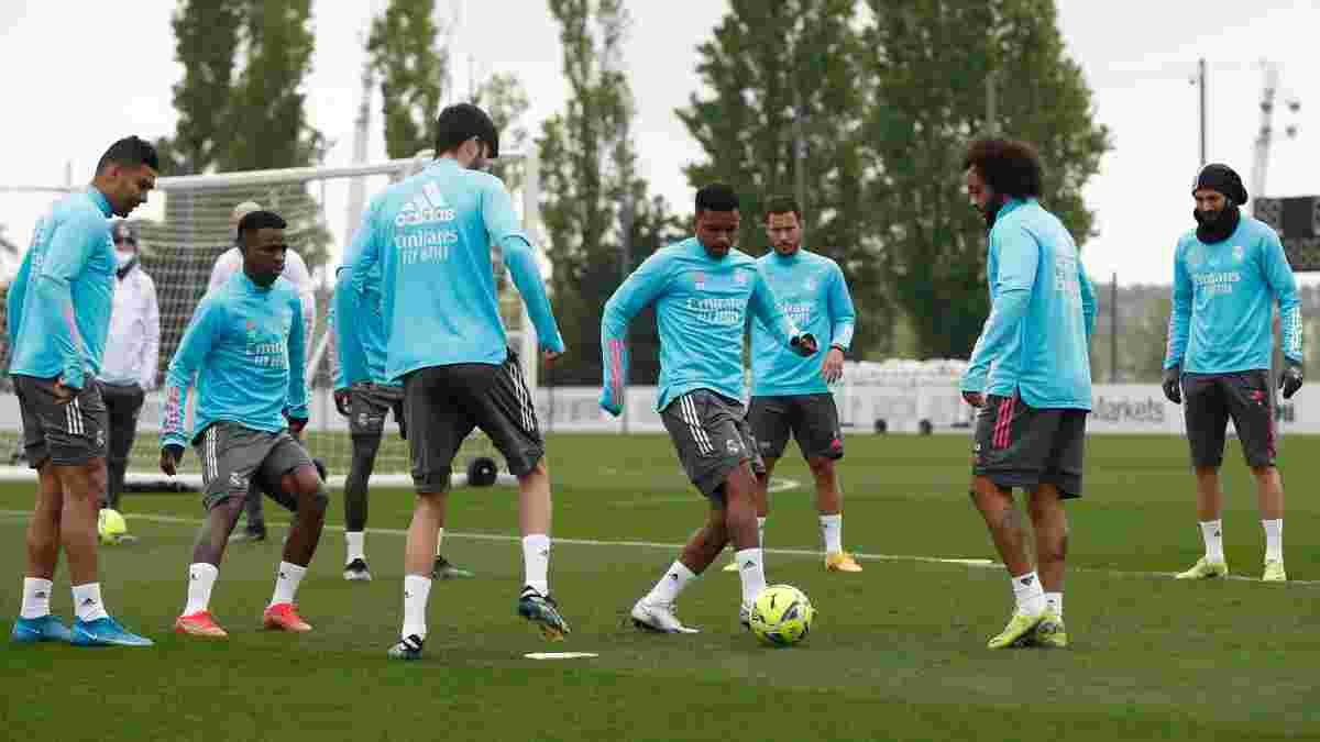 Реал – Барселона: мадридцы определились с заявкой на Эль Класико – без Азара, но с Луниным