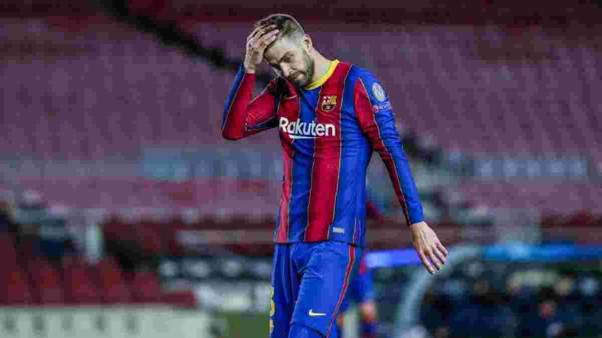 Реал – Барселона: Пике наехал на арбитра после Эль Класико – защитник даже не играл в матче