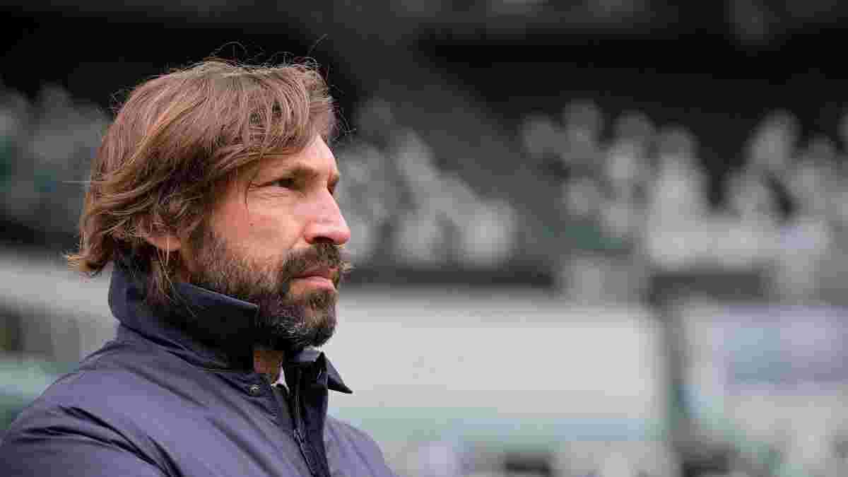 Пірло поставив собі скромну оцінку за перший сезон у статусі тренера