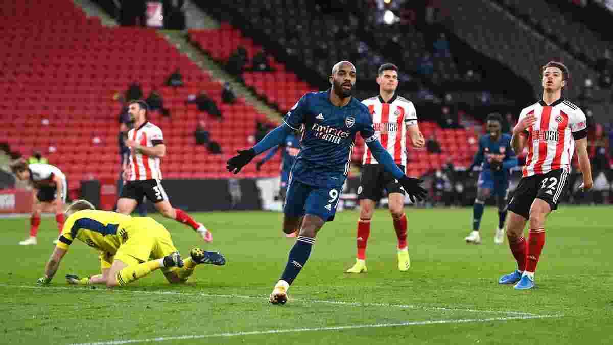 Шеффилд Юнайтед – Арсенал – 0:3 – видео голов и обзор матча