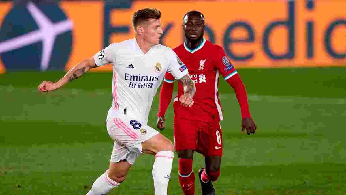 Ливерпуль – Реал Мадрид: онлайн-трансляция матча 1/4 финала Лиги чемпионов