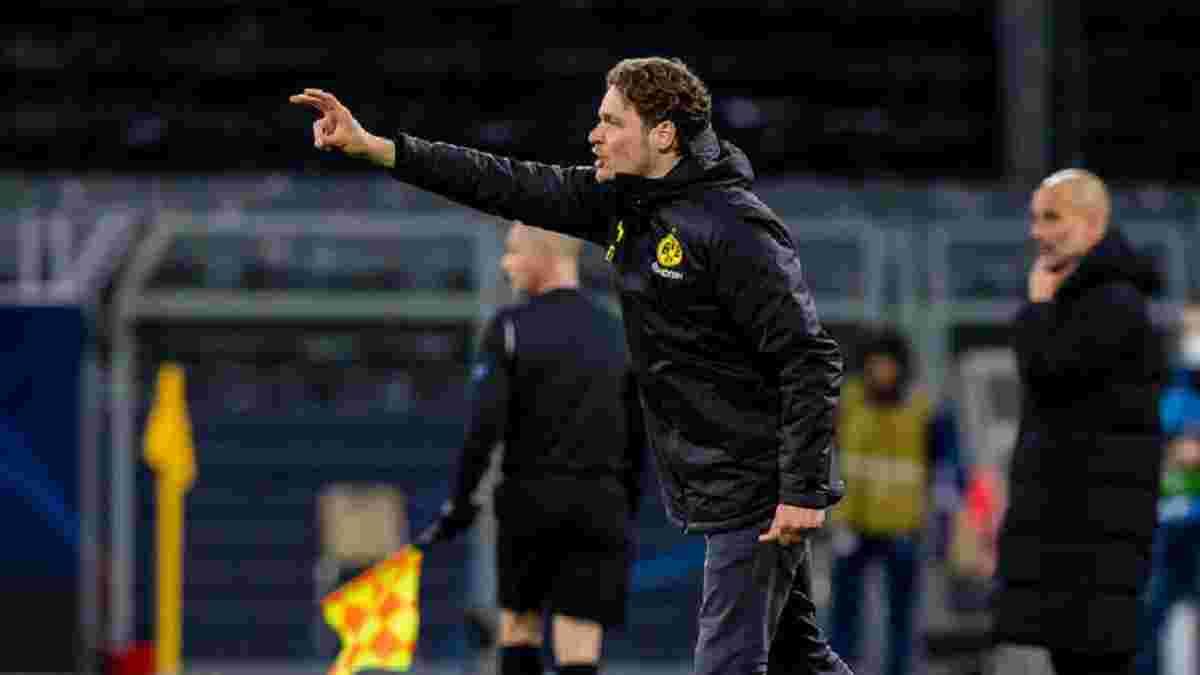 """""""Перед сезоном нам чітко казали, що це не буде порушенням"""": тренер Борусії Д має претензії щодо вирішального пенальті"""